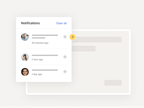 Feature notifications